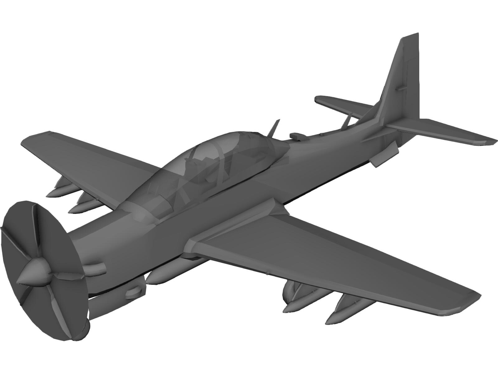 самолет супер тукано