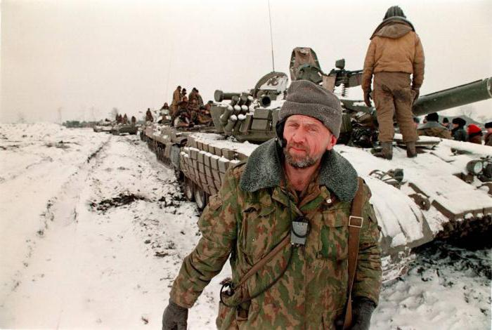 итоги чеченского конфликта