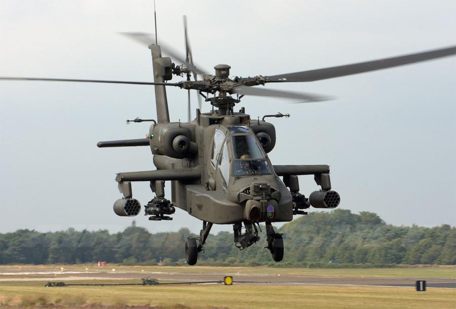 апачи вертолет