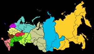 разделение россии на губернии дата