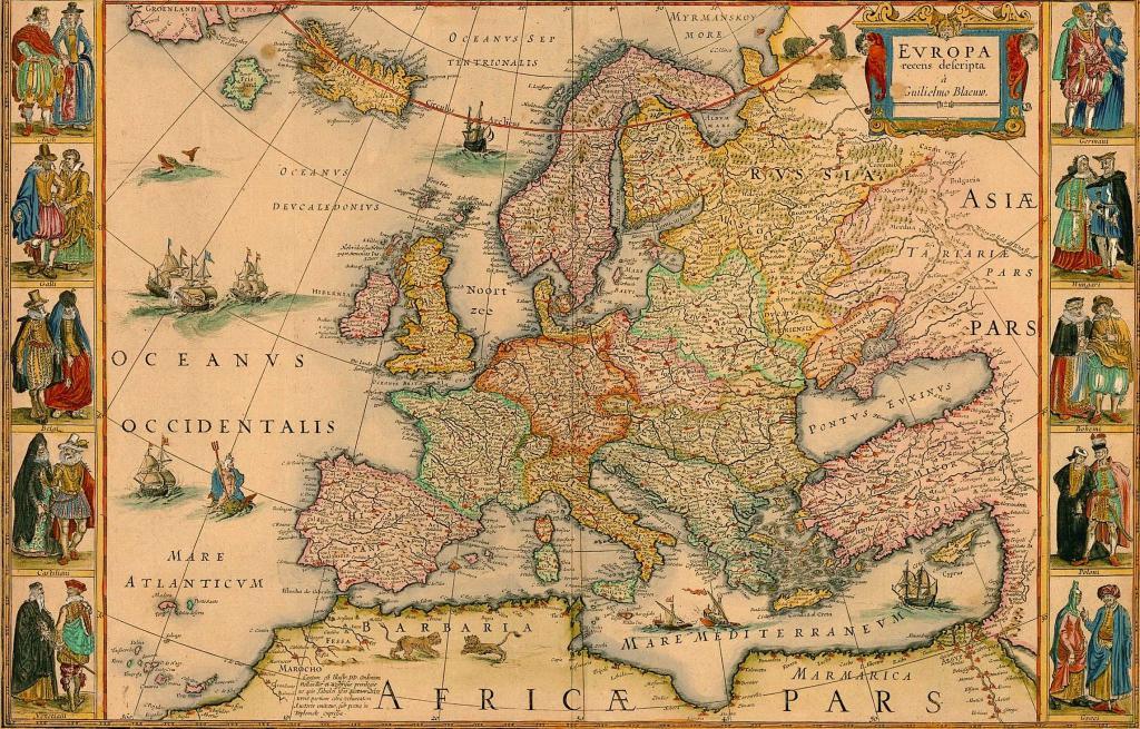 европа 15 век