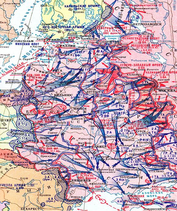 командующий западным фронтом в 1941