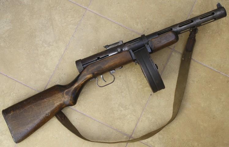 автомат пулемет дегтярева