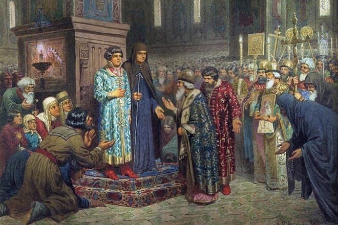 михаил романов избрание на царство
