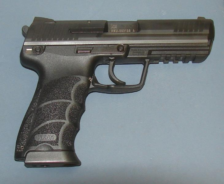 типы пистолетов