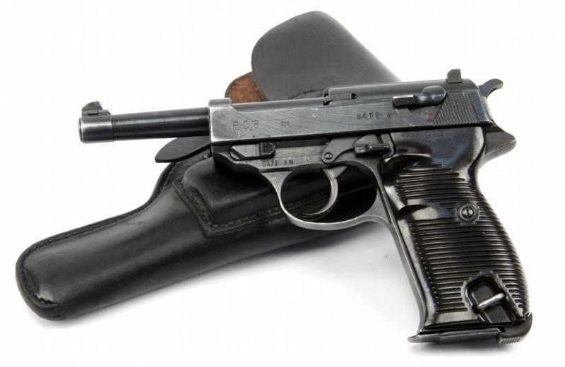 пистолеты германии