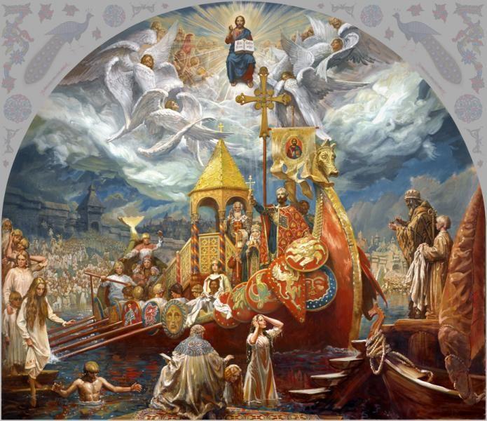 крещение владимира святославича