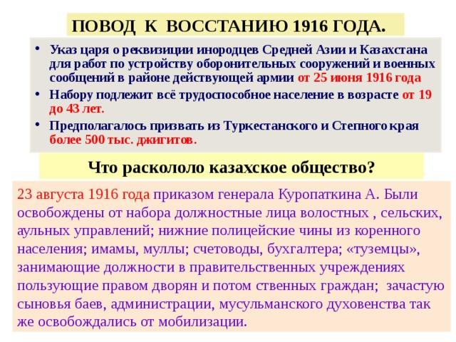 руководители восстания 1916 года