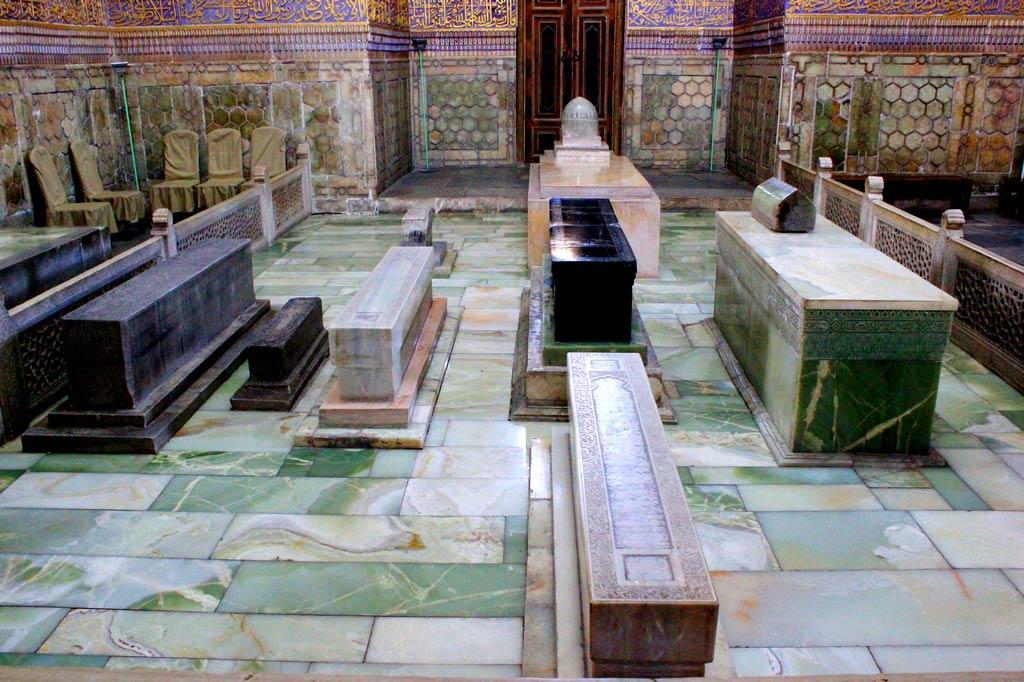 могила тамерлана