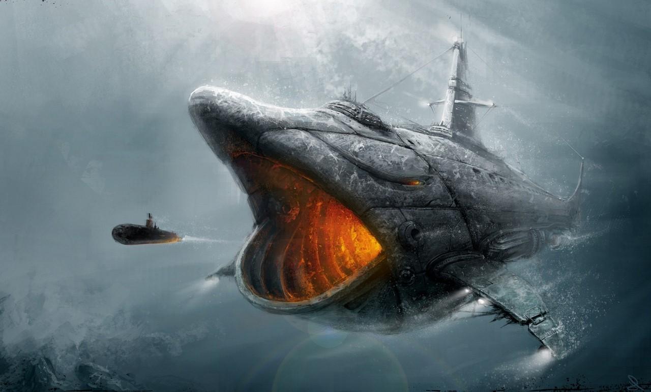 вес подводной лодки