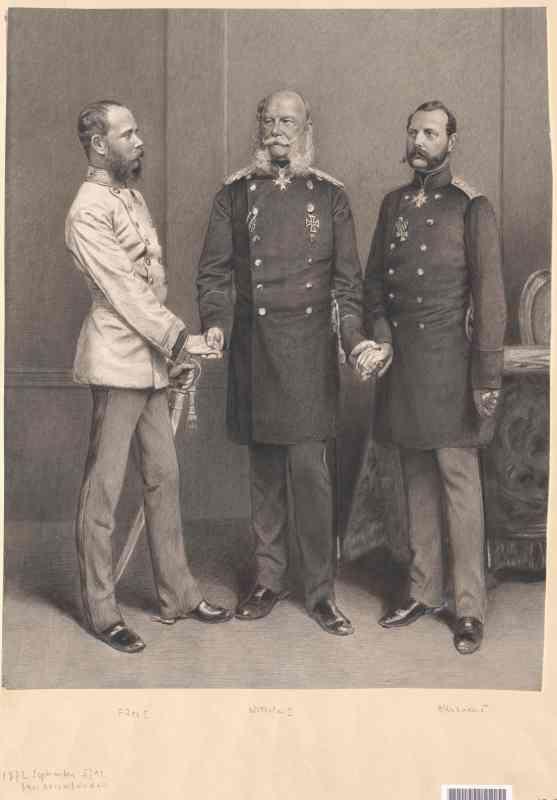 создание союза трех императоров