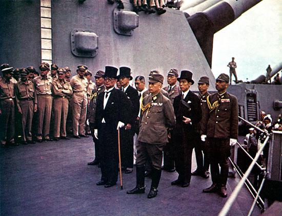 капитуляция японии окончание второй мировой войны дата