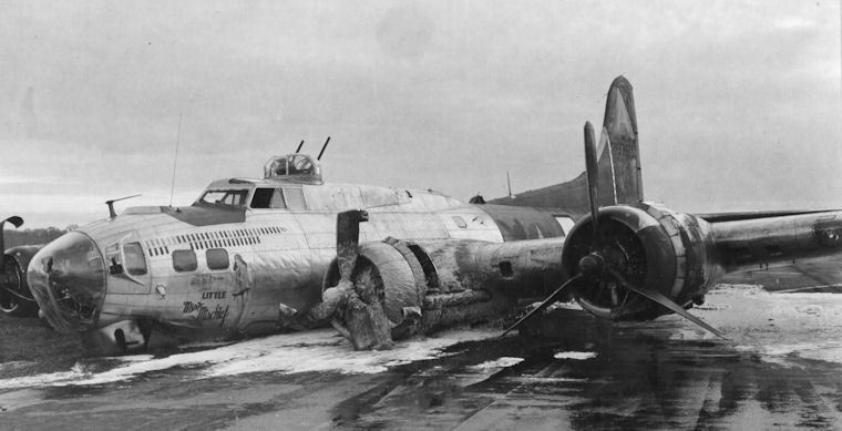 b 17 бомбардировщик
