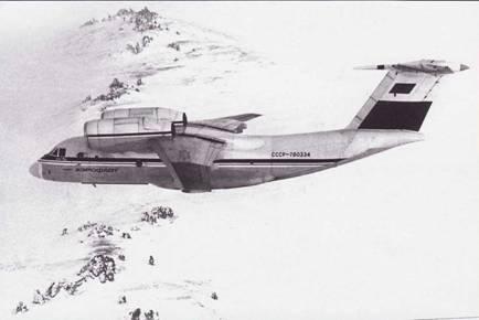 самолет чебурашка