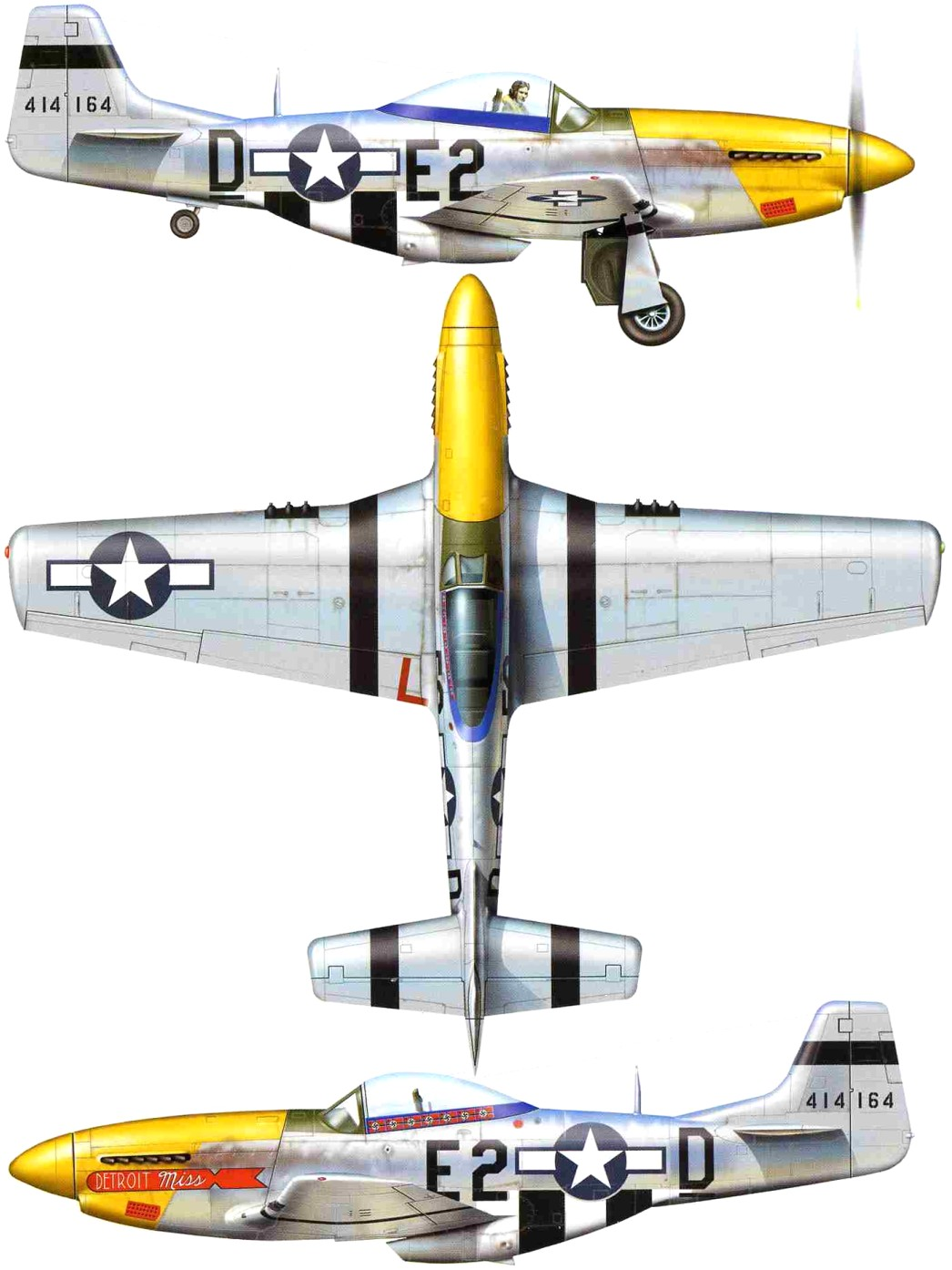 самолет мустанг р 51