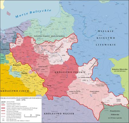 границы польши до 1939 года карта