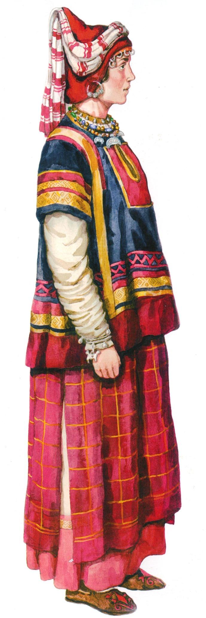 одежда восточных славян