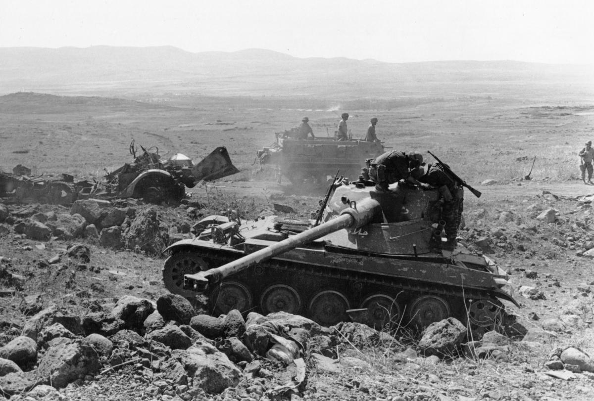 ближневосточный конфликт годы
