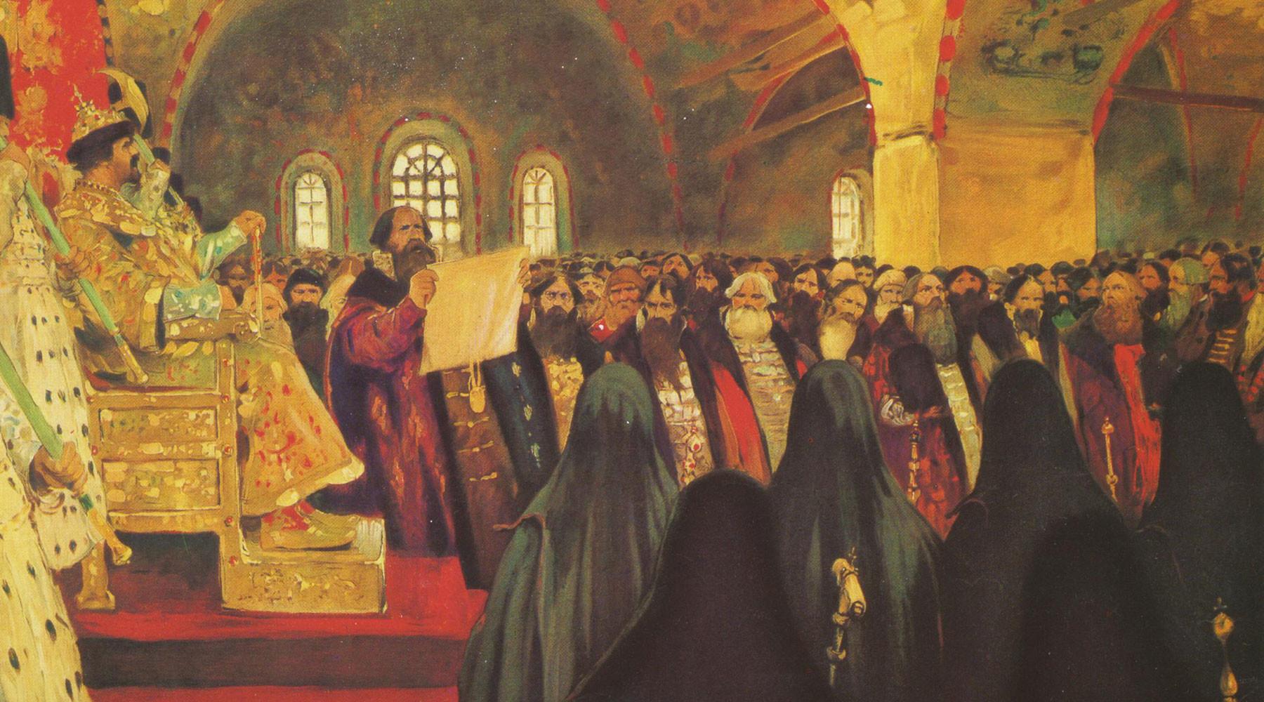земский собор михаил романов