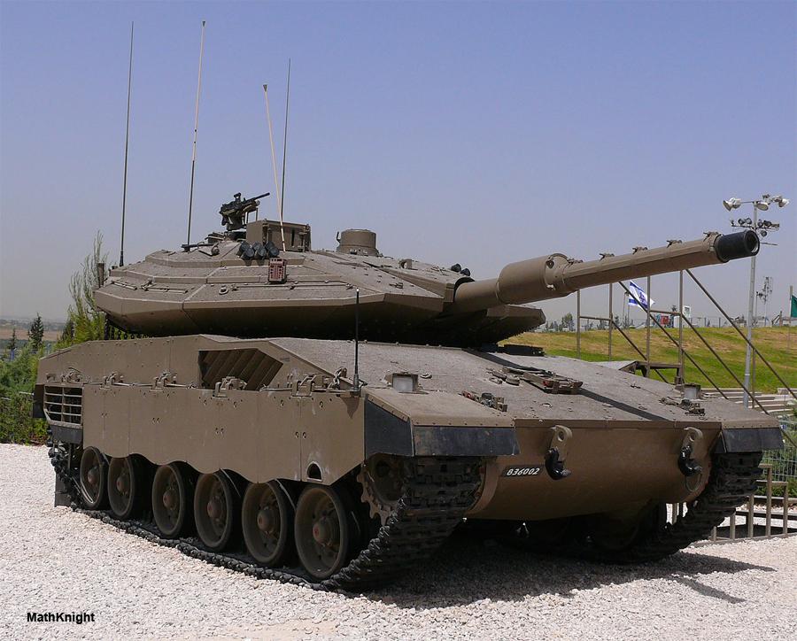 танк меркава 4