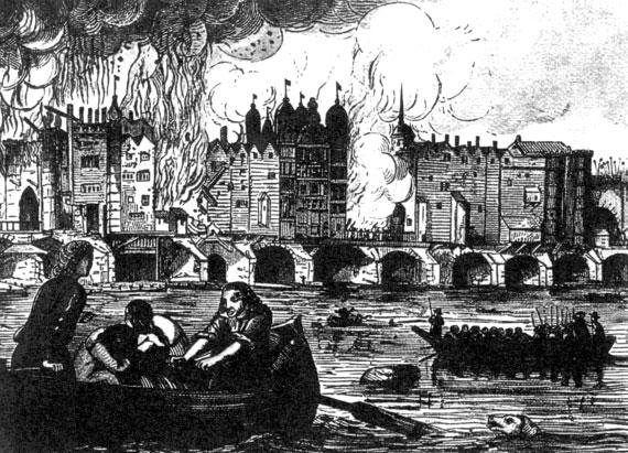 лондонский пожар 1666 года
