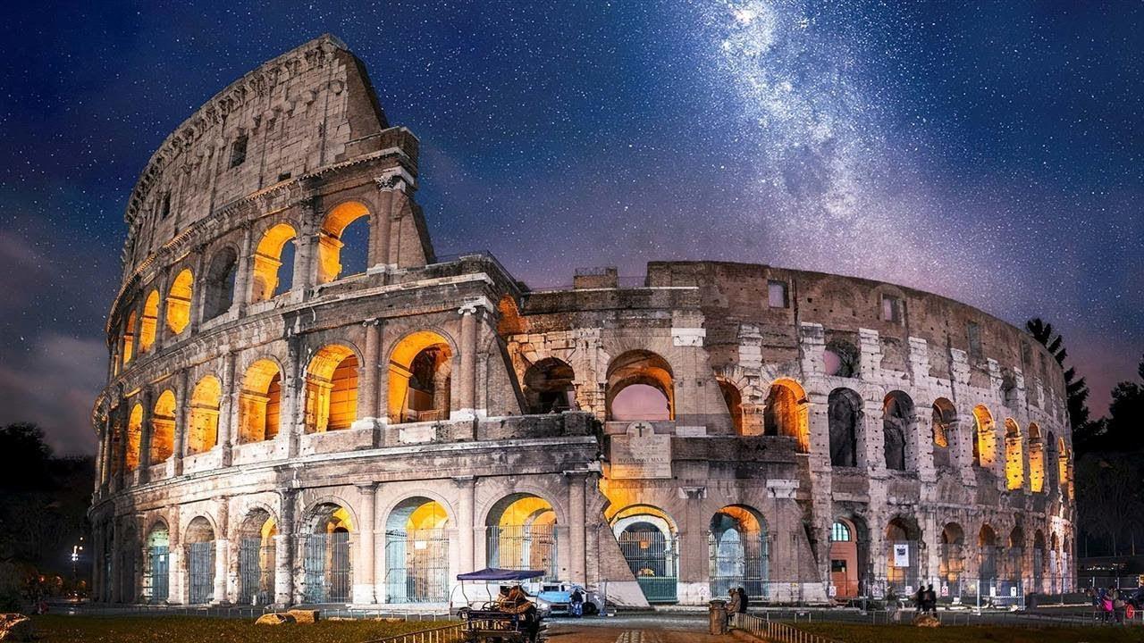 древний рим местоположение