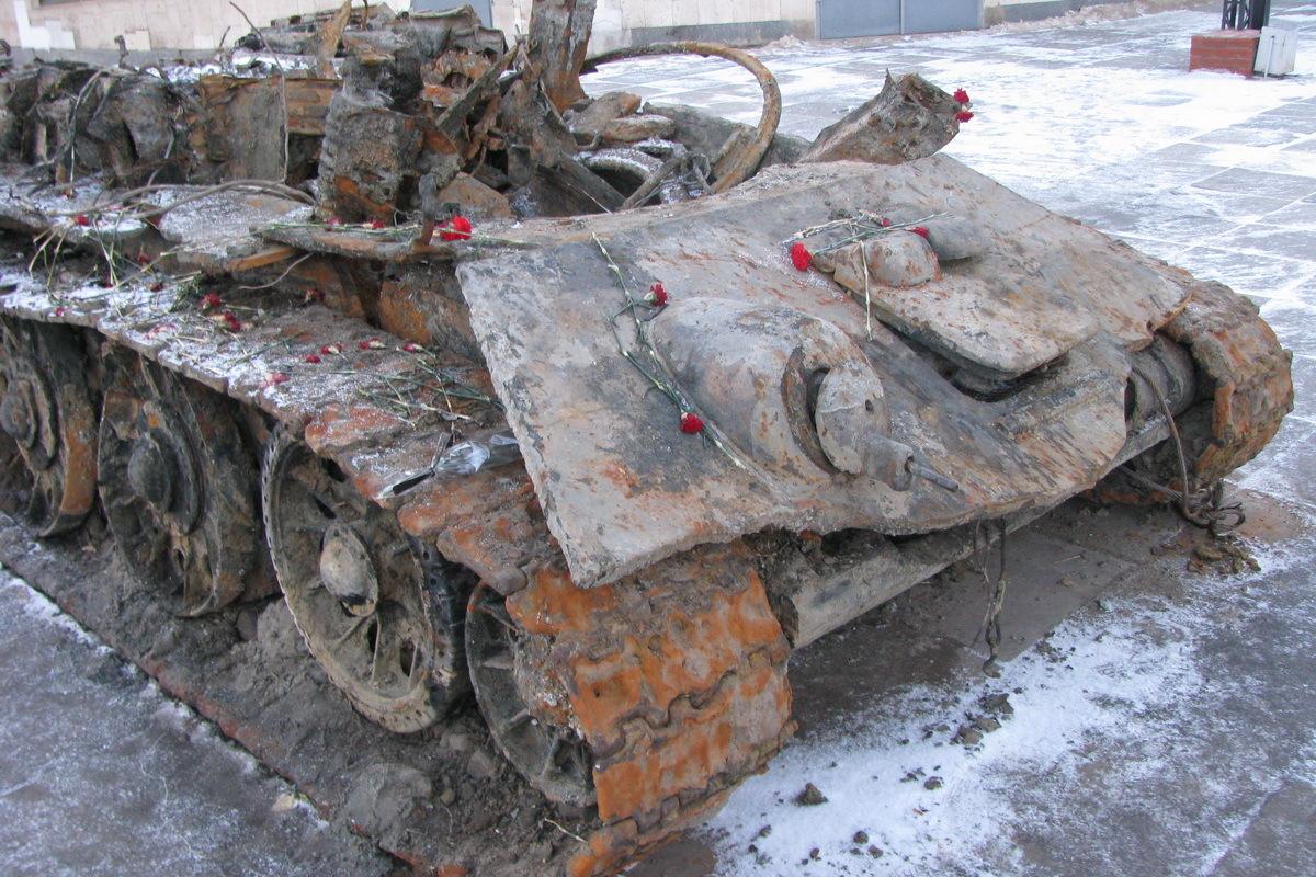 танк т 34 фото военных лет