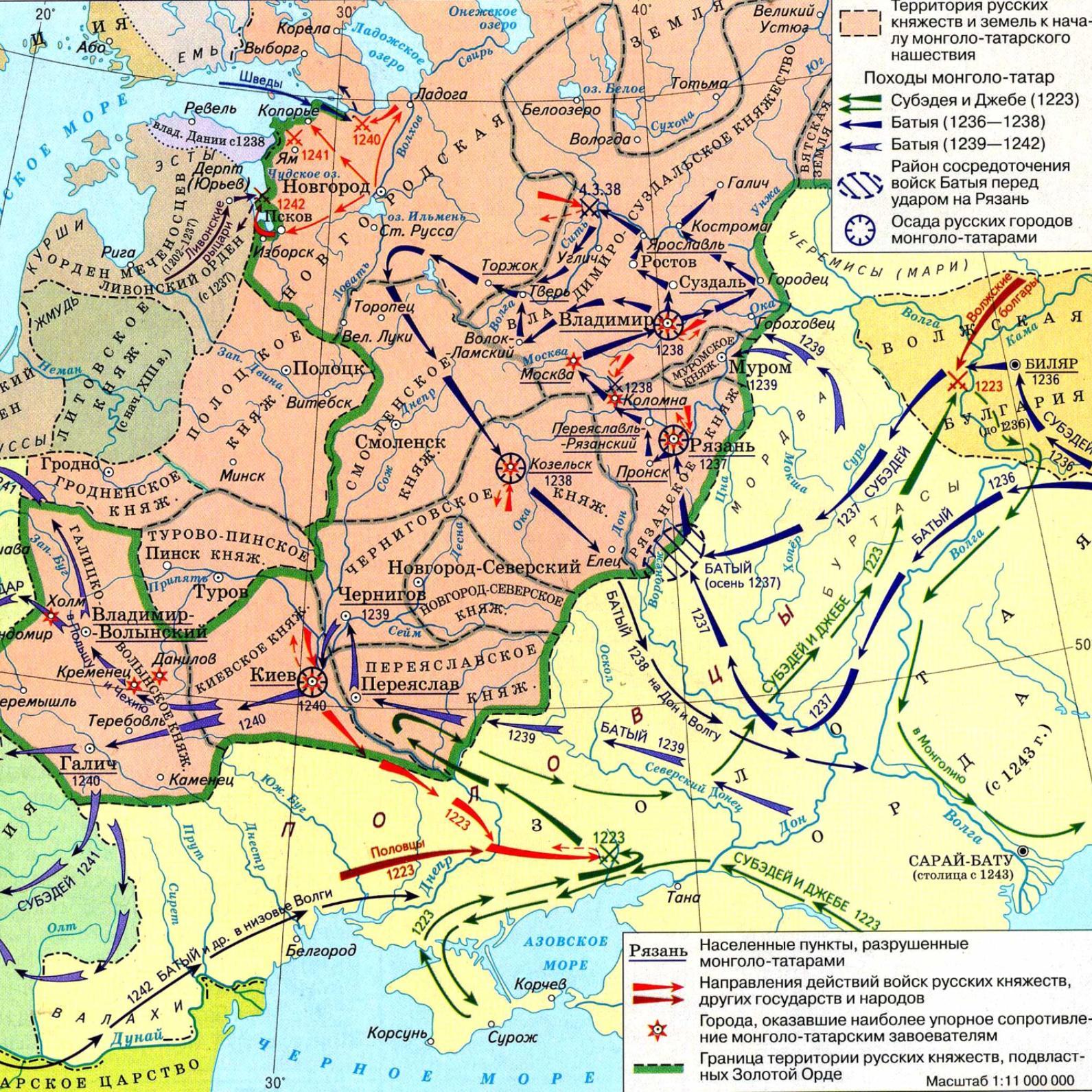 освобождение руси от ордынского владычества