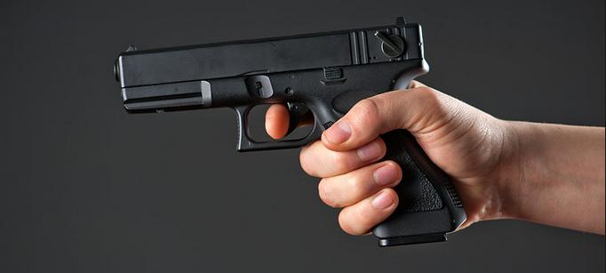 табельное оружие полиции