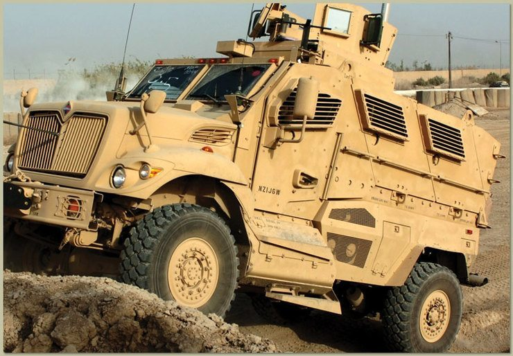 армейские машины