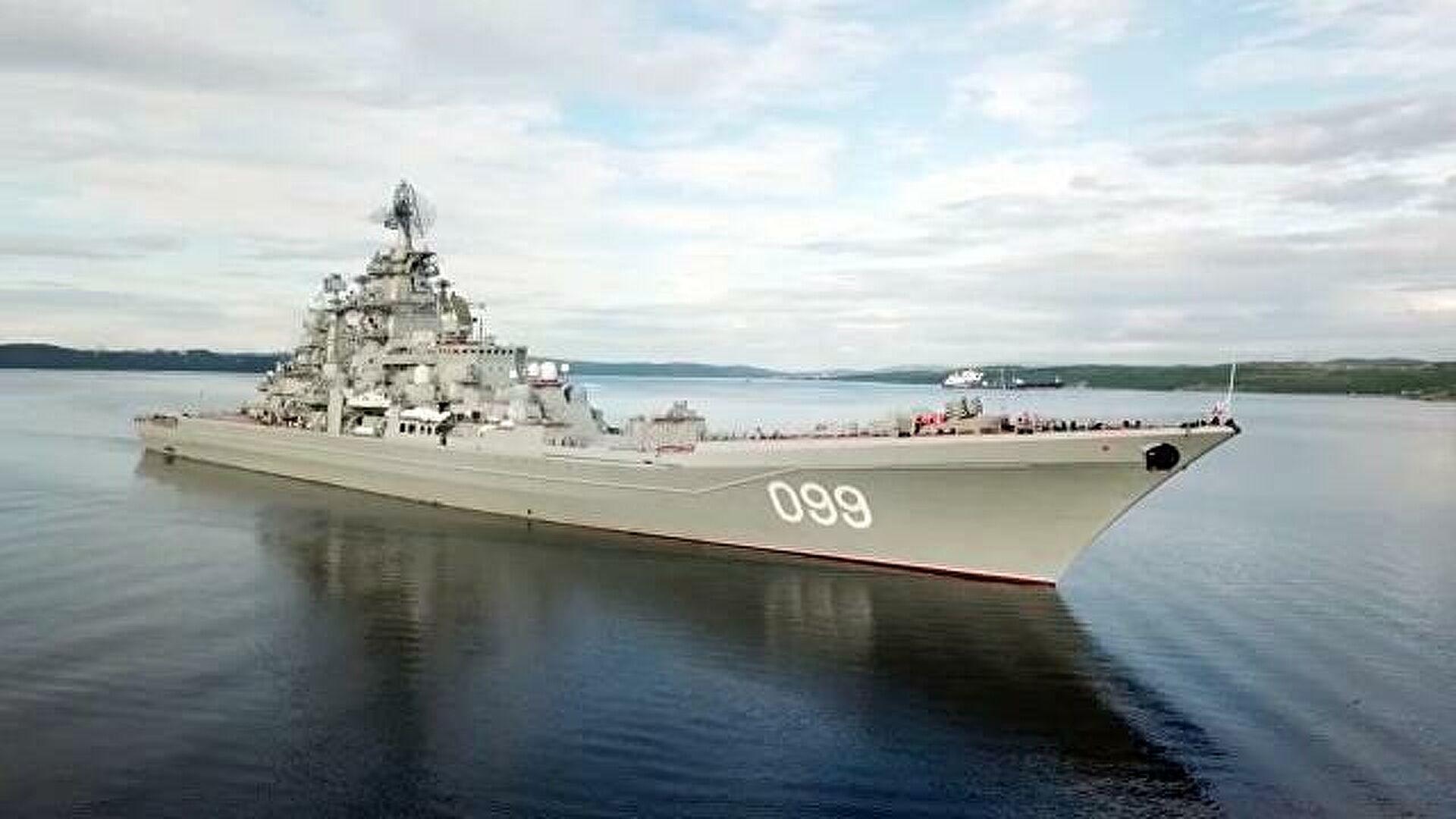 ракетный крейсер петр великий