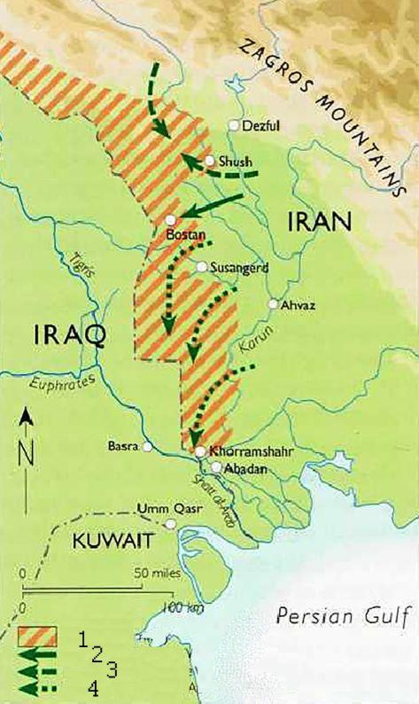 ирано иракский конфликт