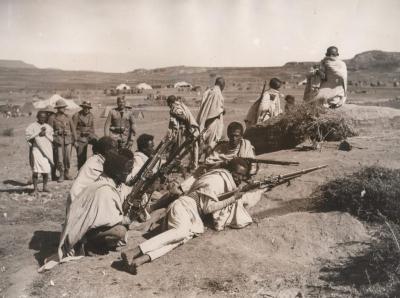 захват эфиопии италией