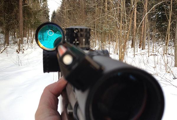 как правильно пристрелять коллиматорный прицел