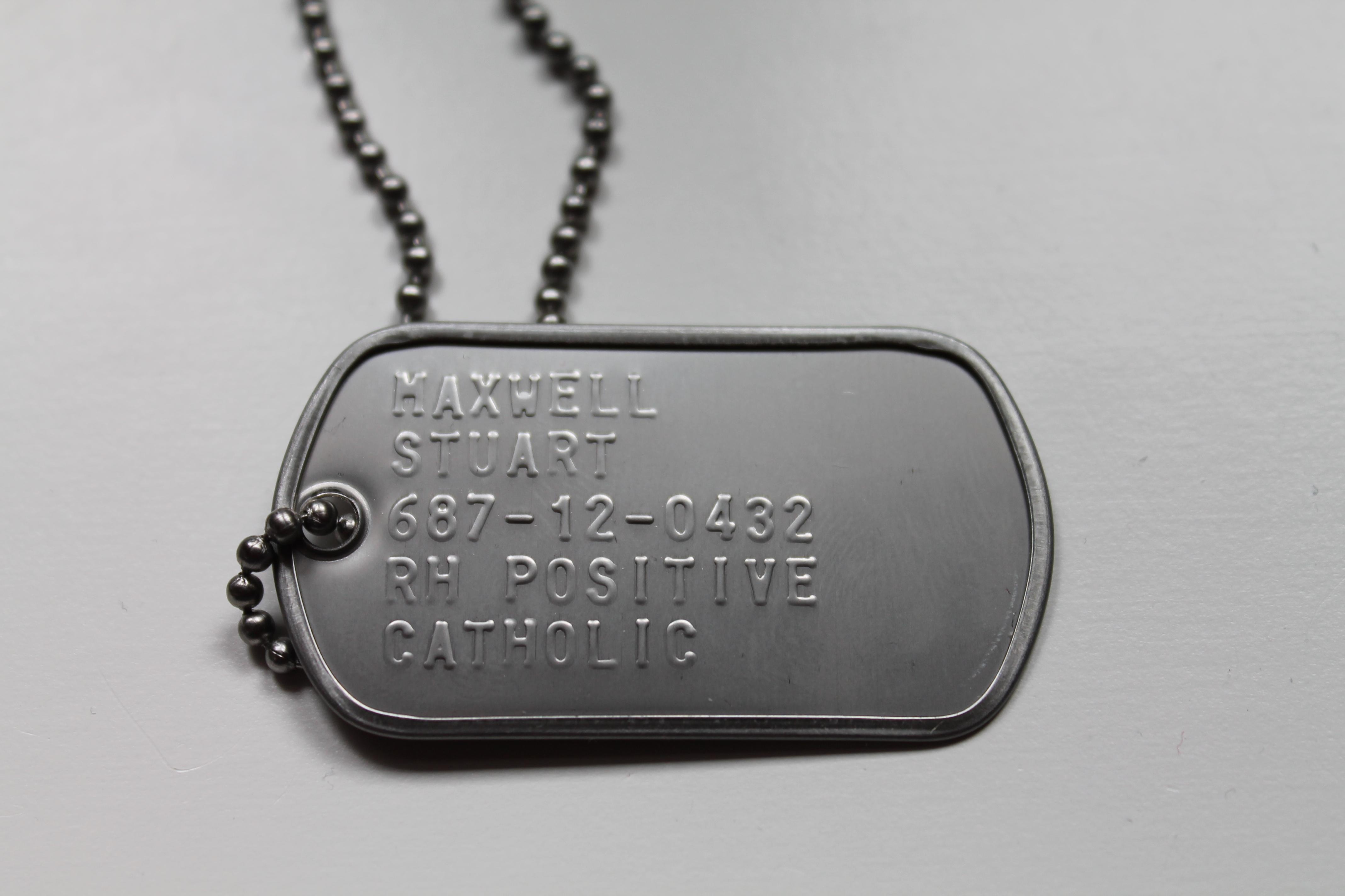 солдатский жетон