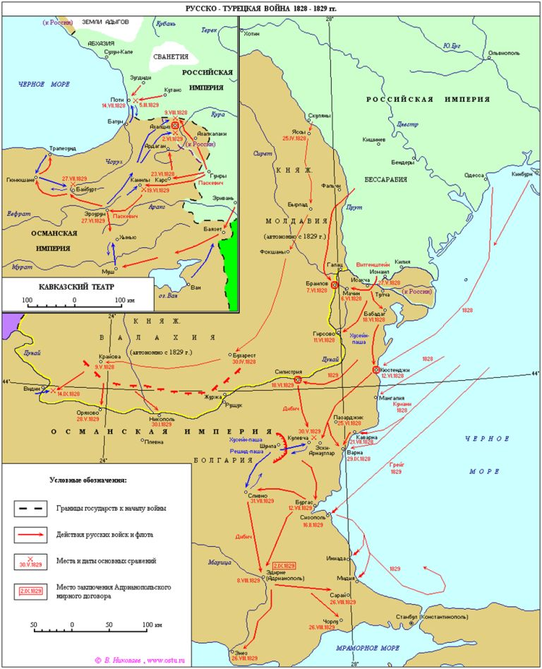 русско турецкая война при николае 1