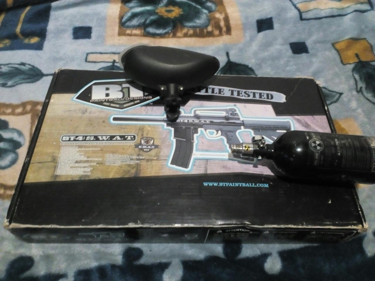 пистолет для пейнтбола