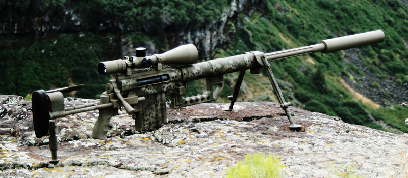 самая крупнокалиберная снайперская винтовка в мире