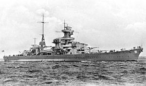 крейсер адмирал шеер