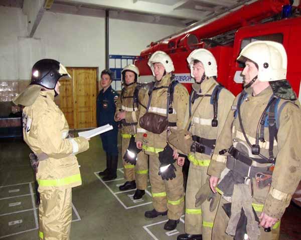 организация караульной службы в подразделениях пожарной охраны
