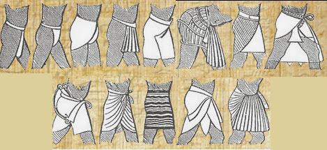 что носили древние египтяне земледельцы