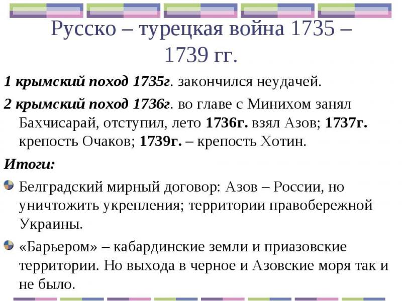 1735 год в истории россии