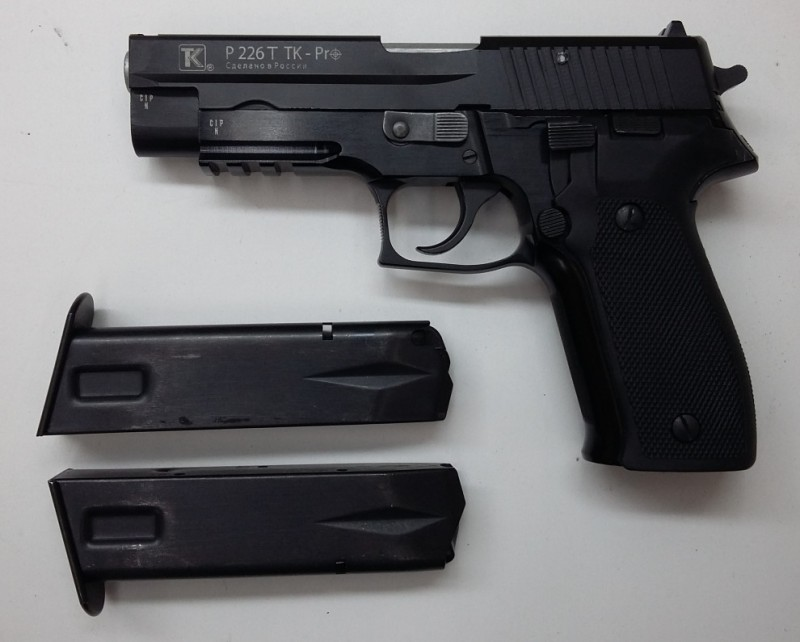 травматический пистолет зиг зауэр р226т