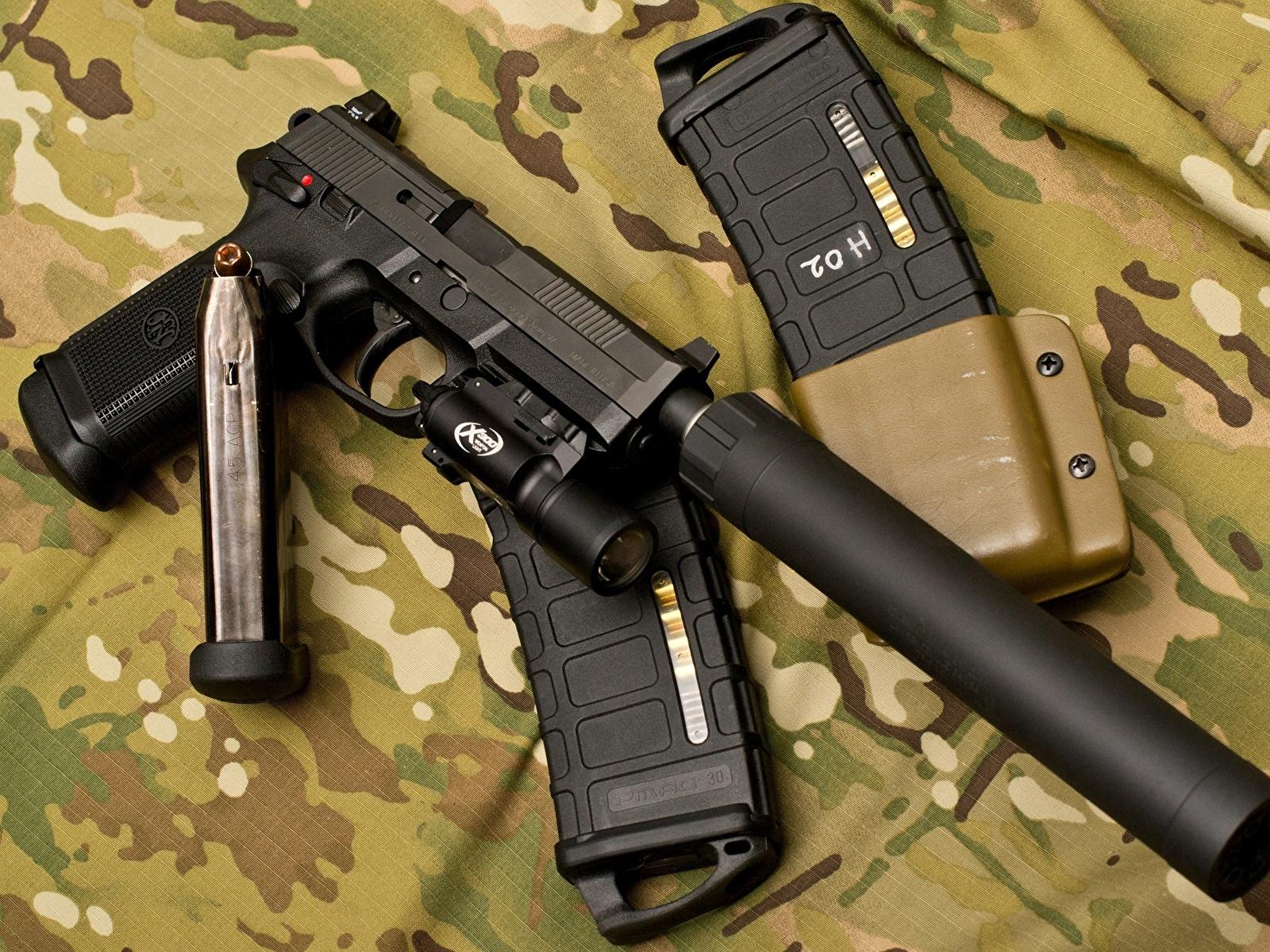 устройство глушителя для огнестрельного оружия
