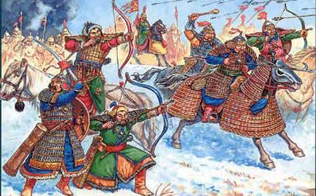 первая встреча с монголо татарами
