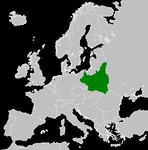 карта польши 1939 года