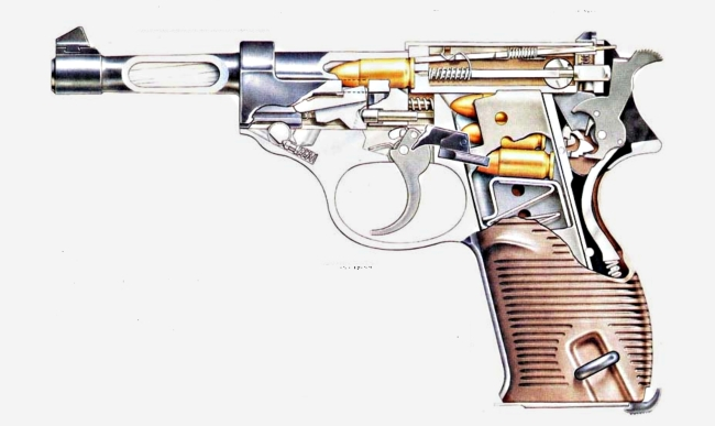 p 38 пистолет