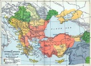 развал османской империи