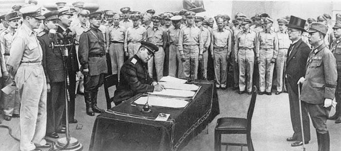 капитуляция японии во второй мировой войне