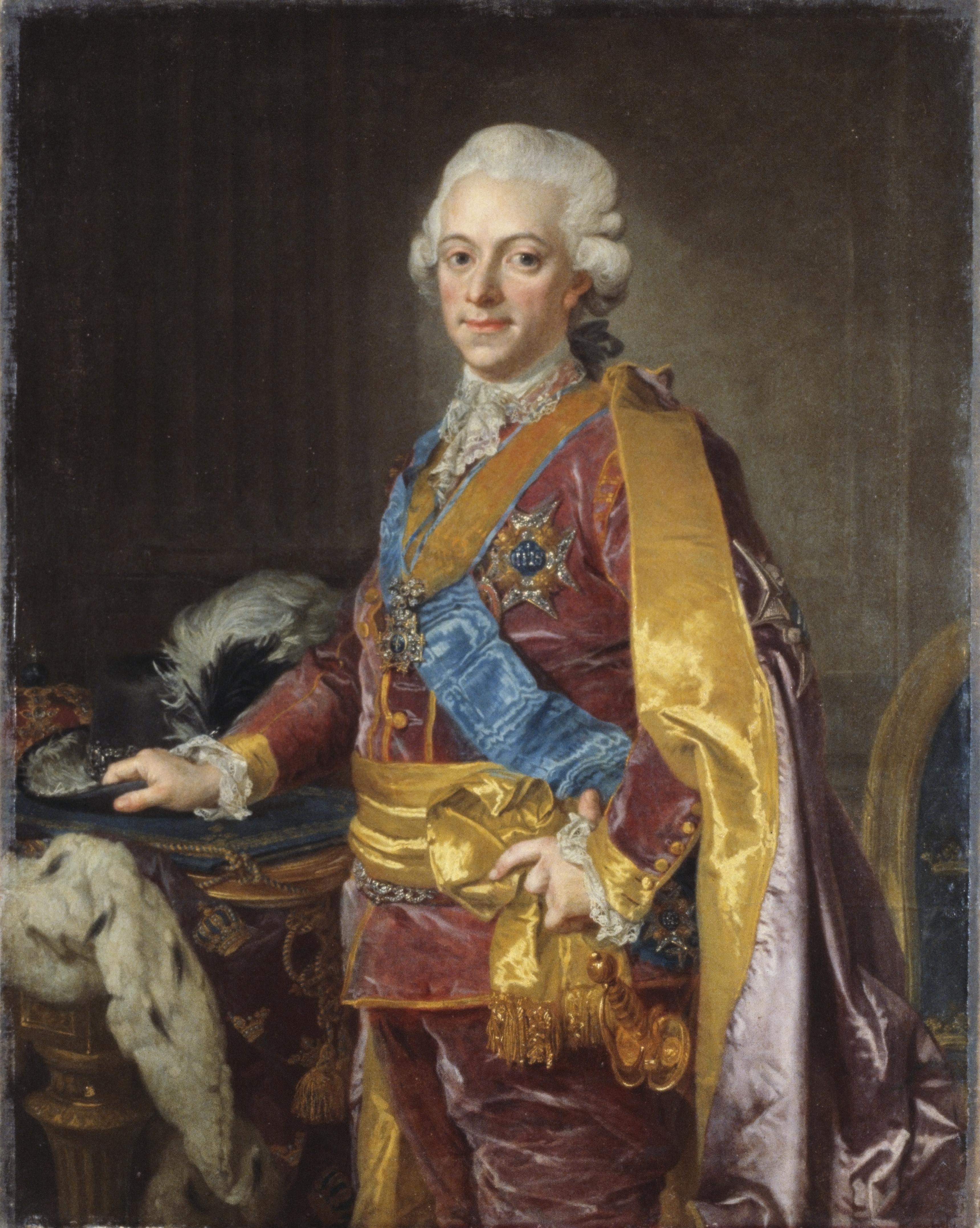 густав 3 король швеции